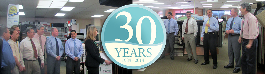 Coronado Paint & Decorating creates commercial for their 30th Anniversary Celebration during June.
