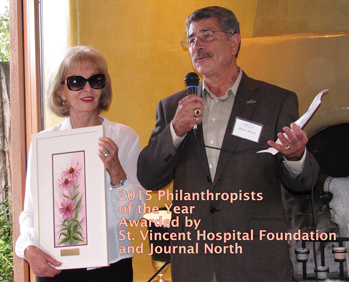 Philanthropists of the Year for 2015 - St. Vincent Hospital Foundation and Journal North