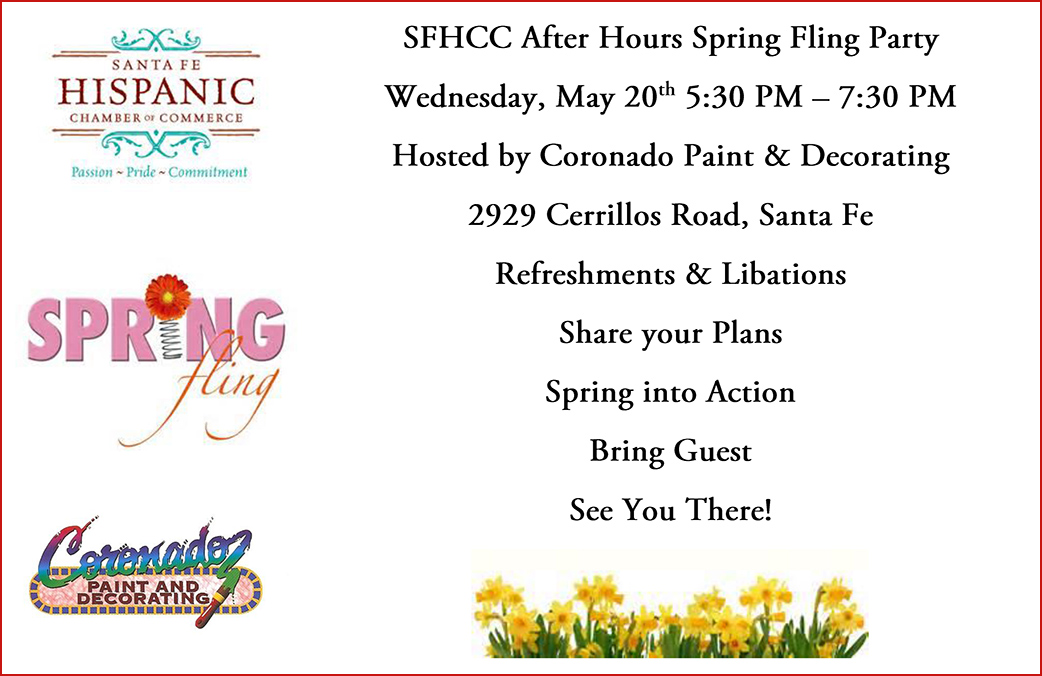 Santa Fe Hispanic Chamber of Commerce After Hours Spring Fling Party