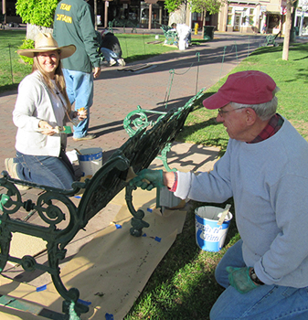 3rd Annual 'Make the Santa Fe Plaza Beautiful' on May 7th, 2016