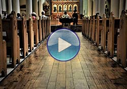 Cathedral Basilica Hardwood Flooring Project by Coronado Paint & Decorating