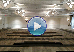 Franciscan Ballroom Hotel Albuquerque - completed flooring project by Coronado Paint & Decorating